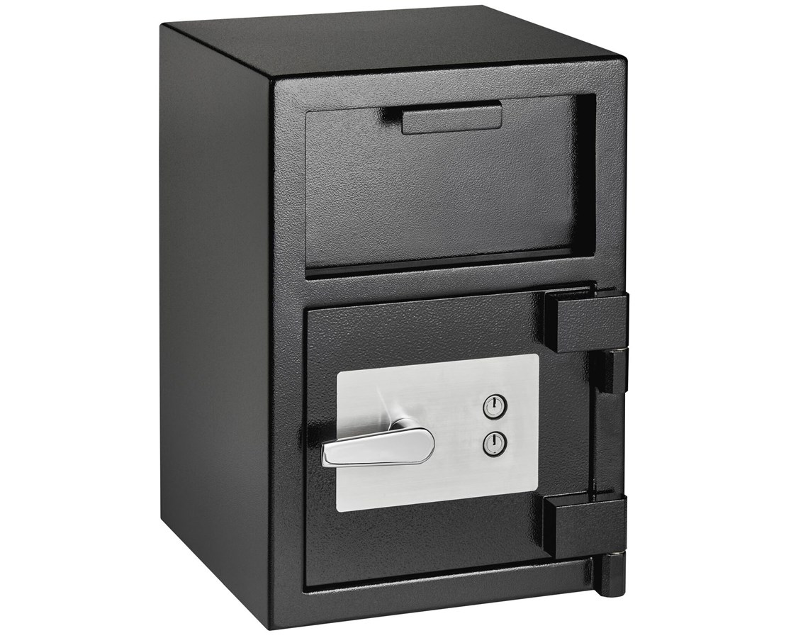 AdirOffice Drop-Hopper Office Safe with 2 Keys ADI670-900-01