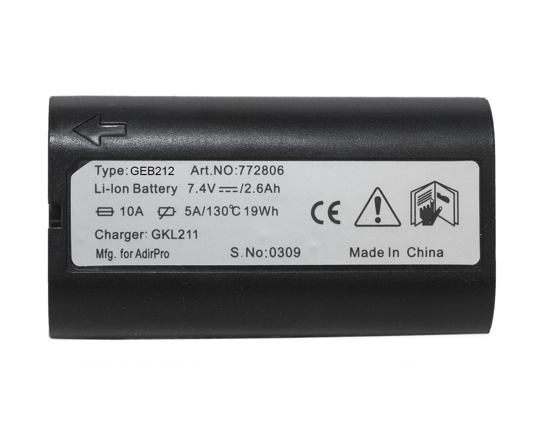 AdirPro GEB212 Li-ion Rechargeable Battery (Leica Compatible)