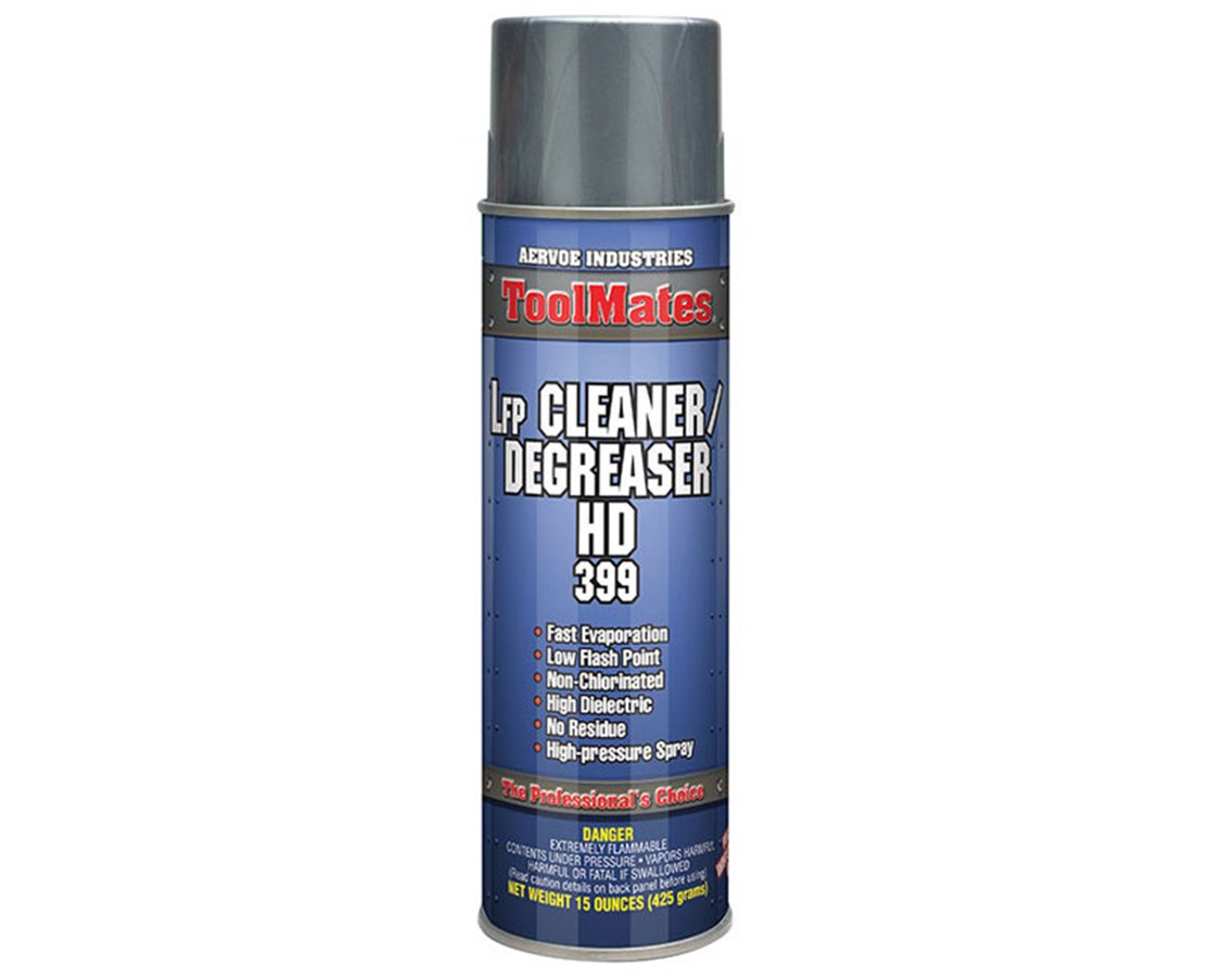 Aervoe ToolMates Low Flash Point Aerosol Cleaner / Degreaser (12-Pack) AER399