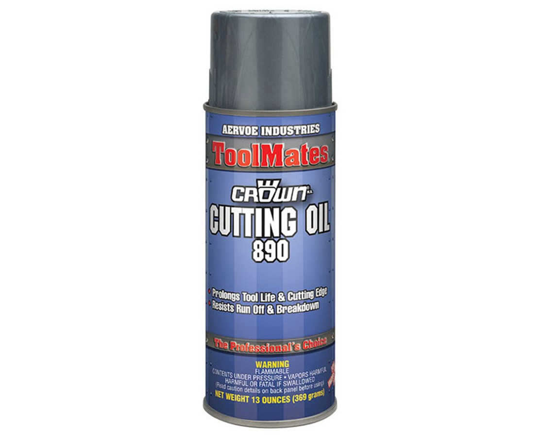Aervoe ToolMates Water-Based Cutting Oil Spray (12-Pack) AER890