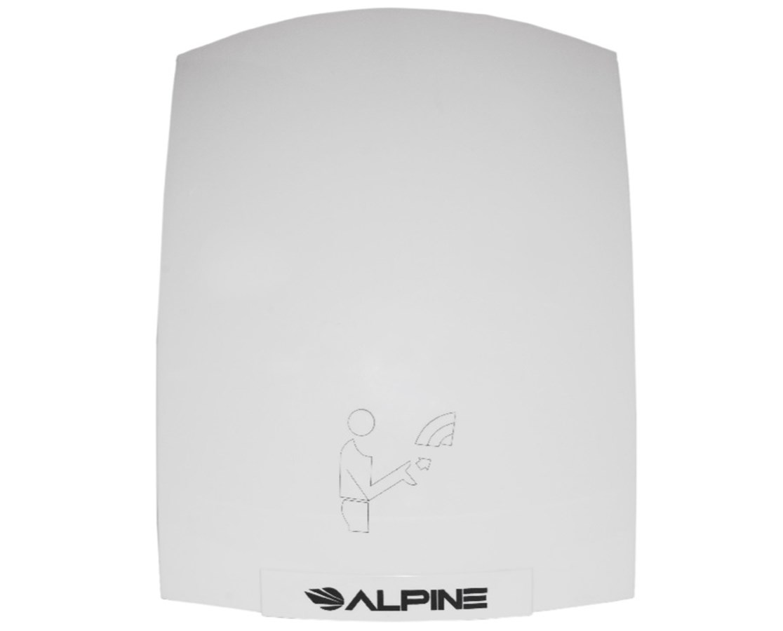 Alpine Hazel Hand Dryer, White ALP402-10-WHI