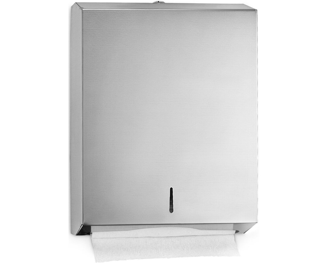 Alpine Stainless Steel C Fold/Multifold Paper Towel Dispenser ALP480