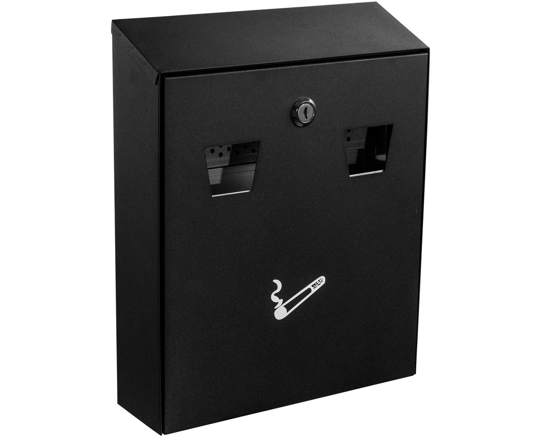 Alpine All-In-One Cigarette Disposal Station ALP490-01-BLK