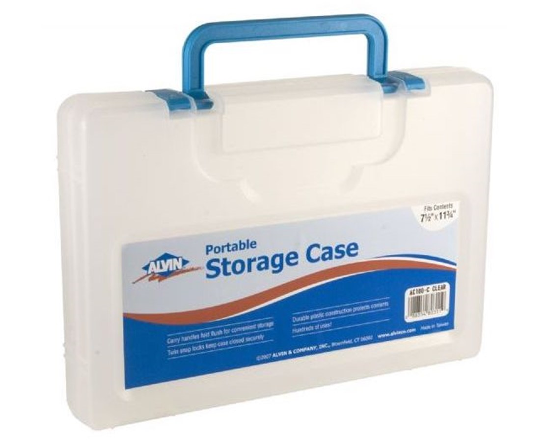 Alvin Portable Storage Case ALVAC100-C
