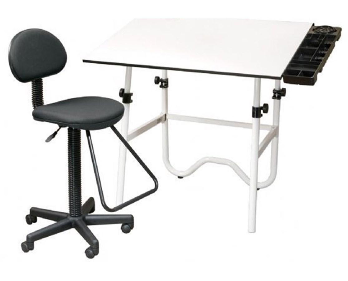 Alvin CC Series Creative Center White Base Onyx Drafting