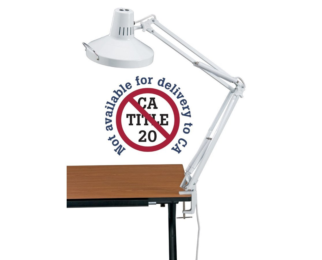 Alvin Swing Arm Combination Lamp Tiger Supplies