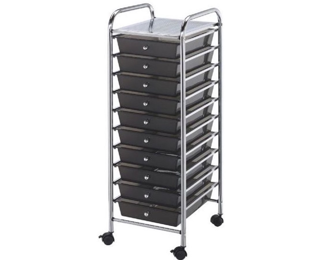 Standard Drawer For Blue Hills Studio Storage Cart Smoke ALVSC-SD-S