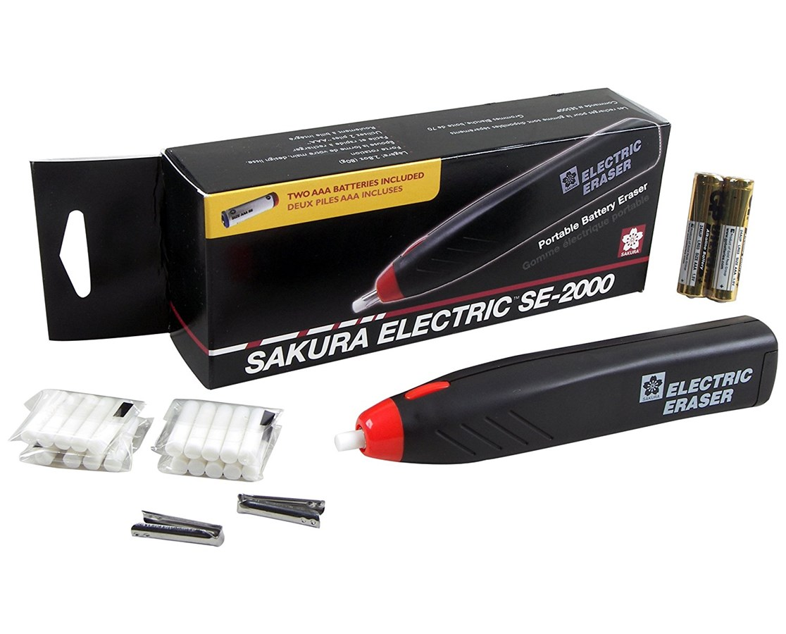 Sakura Electric Eraser Kit SE2000