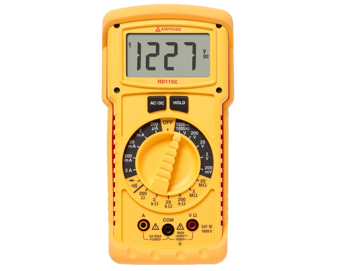 Amprobe HD Series Heavy Duty Digital Multimeter AMP2670779-