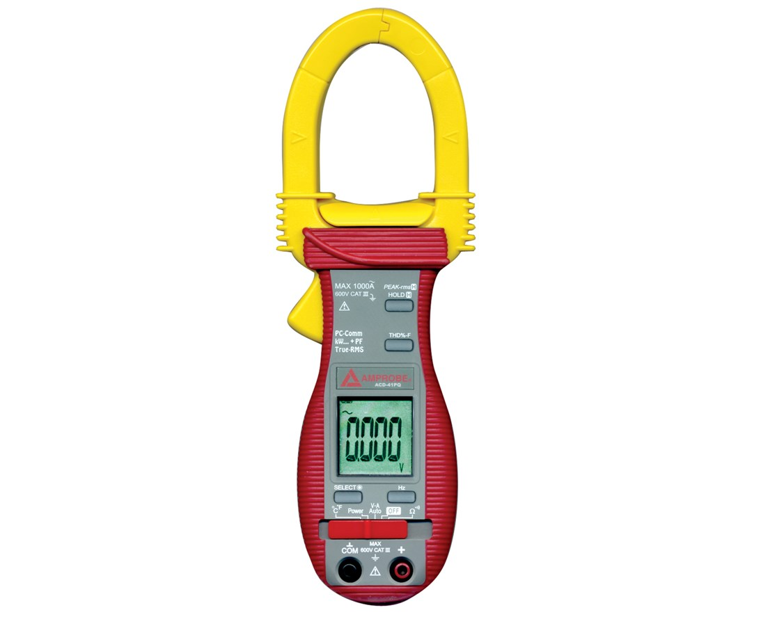 Amprobe ACD-41PQ 1000A Power Quality Clamp Meter w/ Temperature & THD AMP2730760
