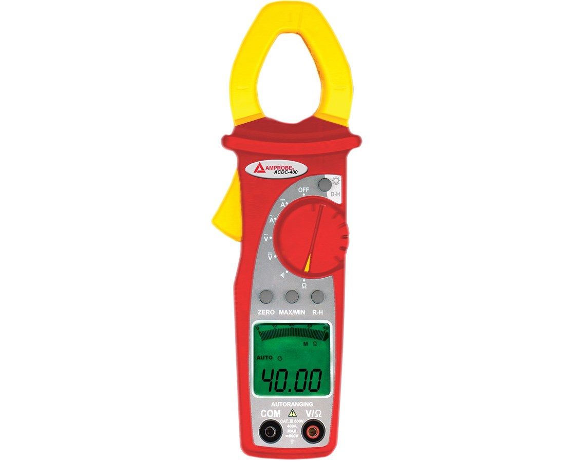 Amprobe ACDC-400 AC/DC 400 A Digital Clamp Multimeter AMP2730810