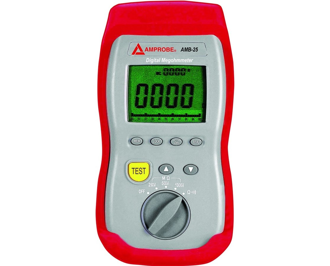 Amprobe AMB-25 Digital Insulation Resistance Tester with Dual Display AMP2730991