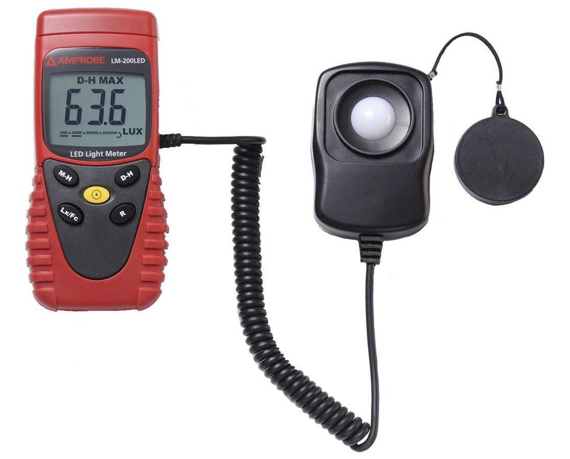 Amprobe LM-200 LED Light Meter AMP3730217