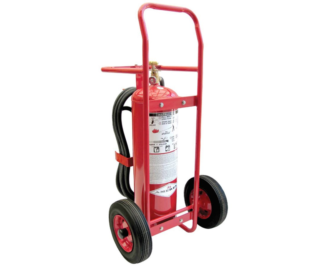 50 lbs Stored Pressure Wheeled ABC Fire Extinguisher AMR495
