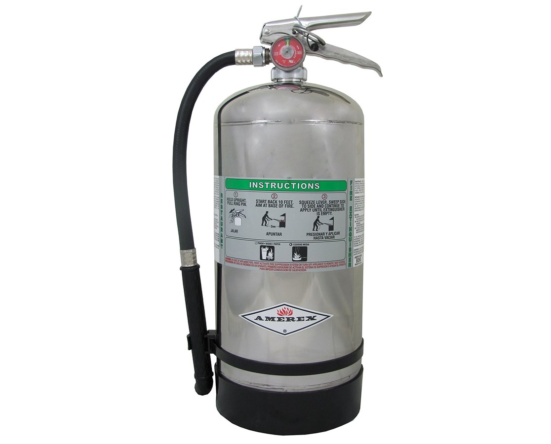 6-Liter Stored Pressure Wet Chemical Fire Extinguisher (Class K) AMRB260
