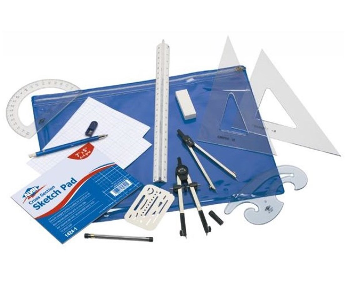 Alvin Basic Beginner's Drafting Engineers' Kit BDK-1E