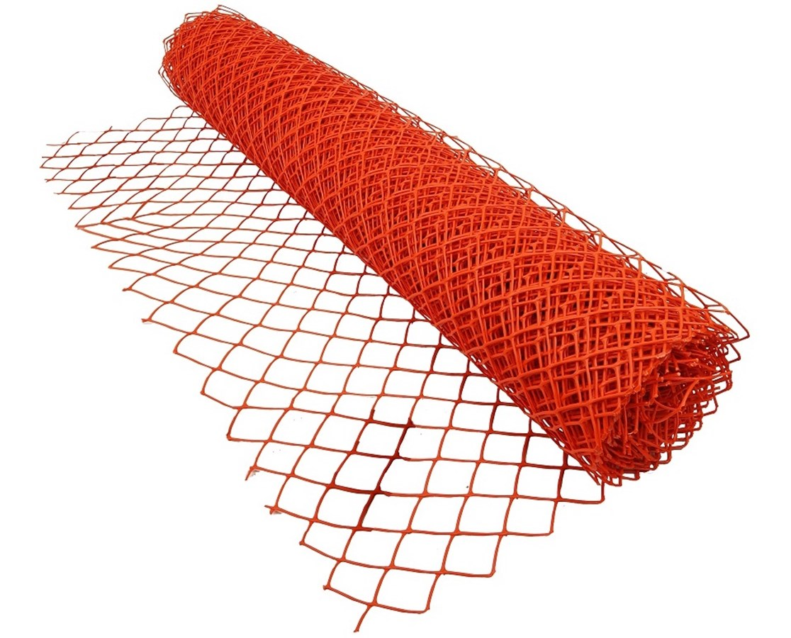 Extra Heavy Duty Safety Snow Fence, Diamond Grid BOESF-480