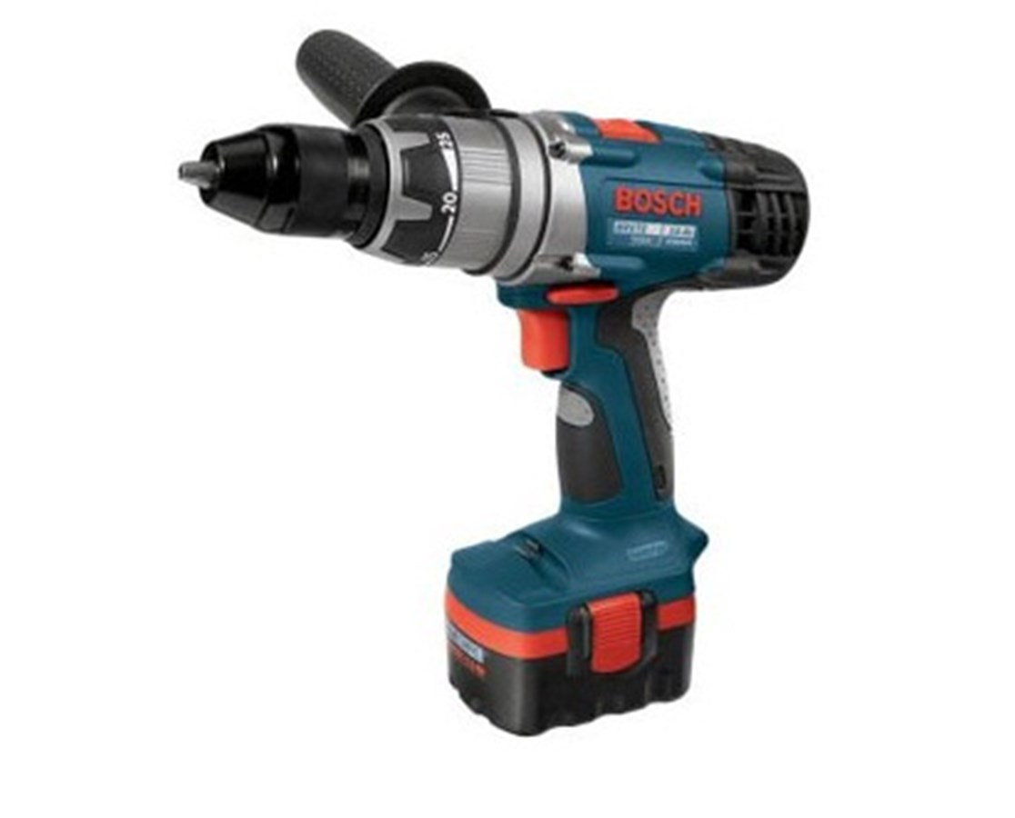 "Bosch 15614 14.4V Brute Tough 1/2"" Cordless BlueCore Hammer Drill/Driver BOS15614"