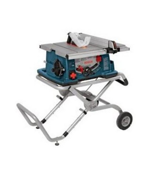 Bosch 4100-09 10″ Worksite Table Saw with Gravity-Rise  Wheeled Stand BOS4100-09