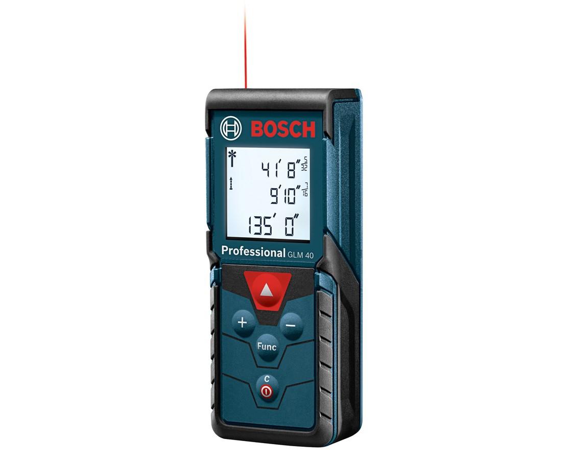 bosch glm 40 135' laser distance meter 0601072912 tiger supplies