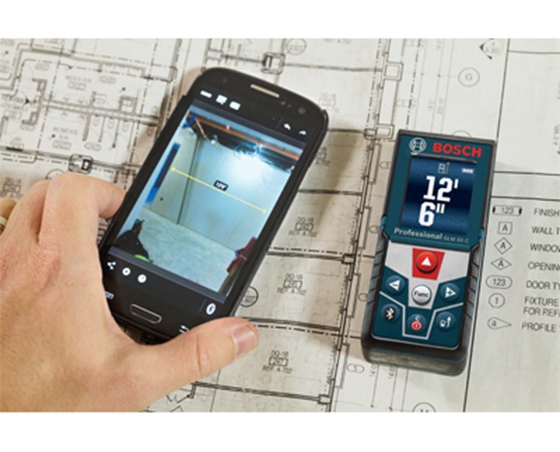 bosch glm 50 c 165 39 laser distance measure with inclinometer and bluetooth 660960103410 ebay. Black Bedroom Furniture Sets. Home Design Ideas