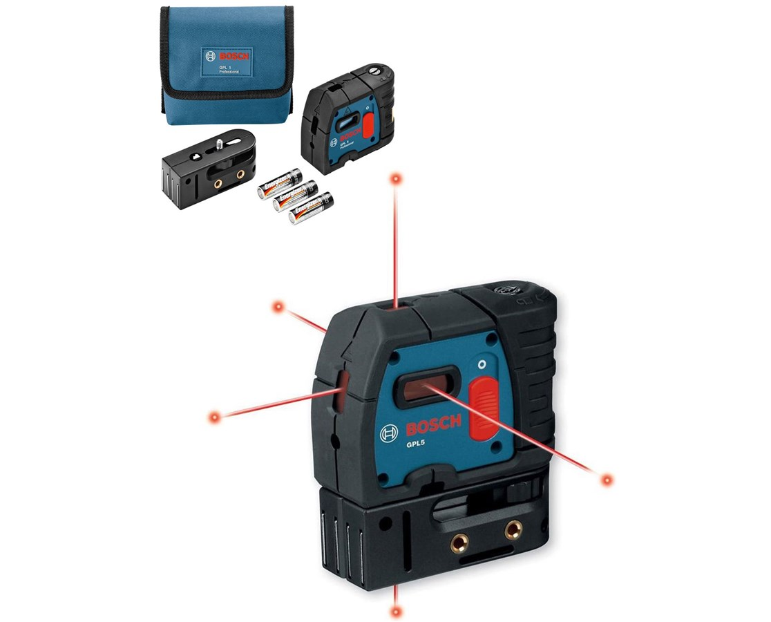 Bosch GPL5 5-Point Laser Level