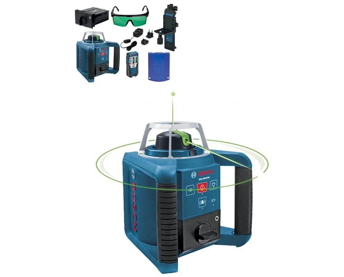 Bosch GRL 300 HVG Green Beam Self-Leveling Rotary Laser Tiger Supplies