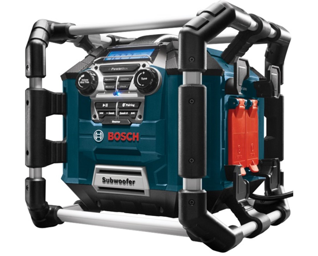 Bosch Power Box Digital Media Stereo/Radio/Charger with Bluetooth BOSPB360C