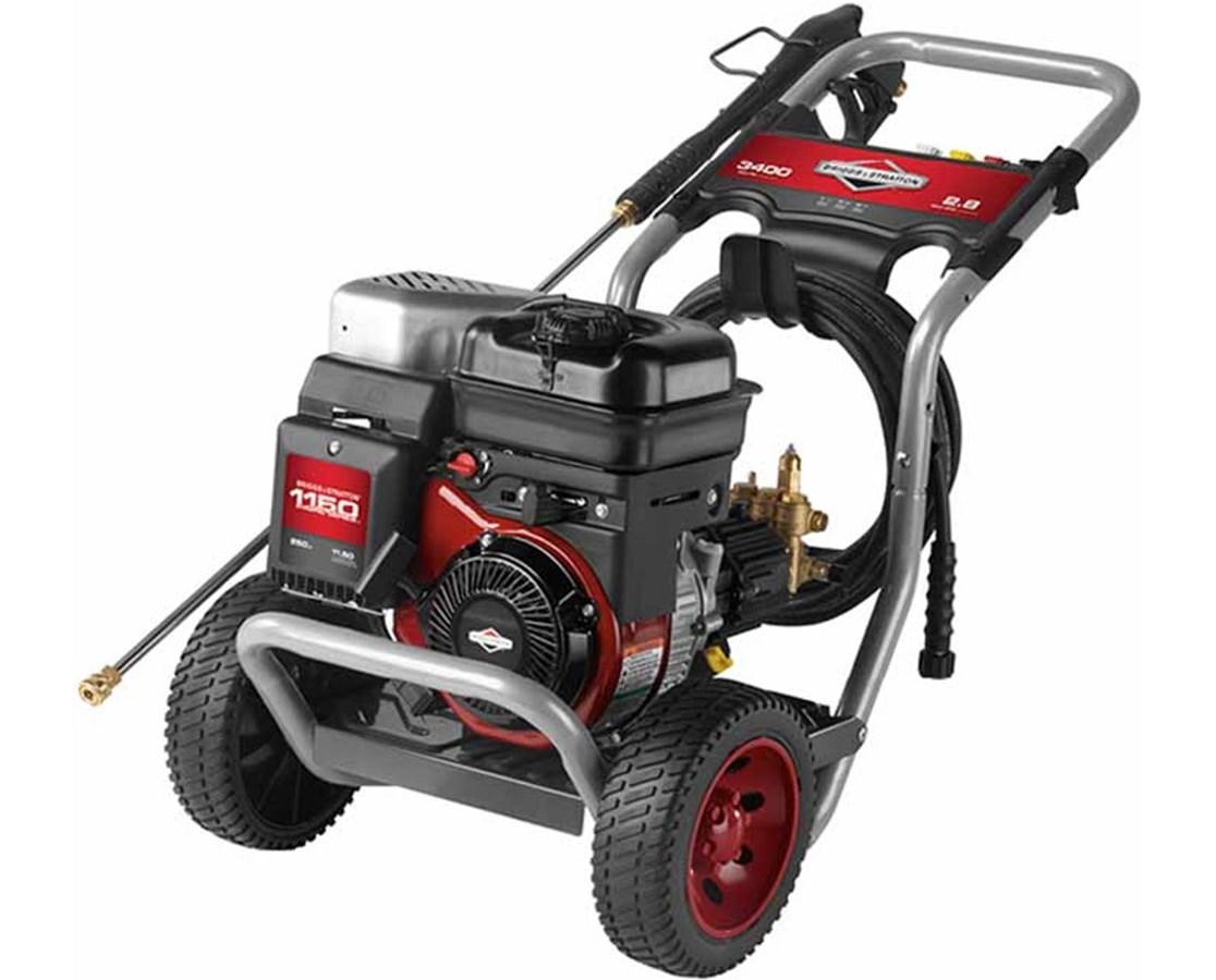 Briggs & Stratton 3400PSI Elite 1150 OHV Pressure Washer BRI20505