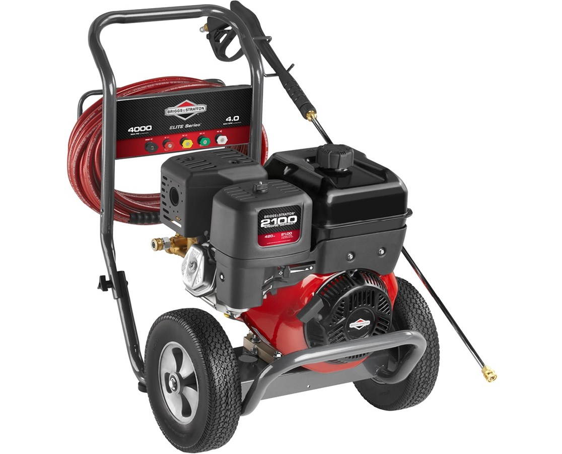 Briggs & Stratton 4000PSI Elite 2100 OHV Gas Pressure Washer BRI20507