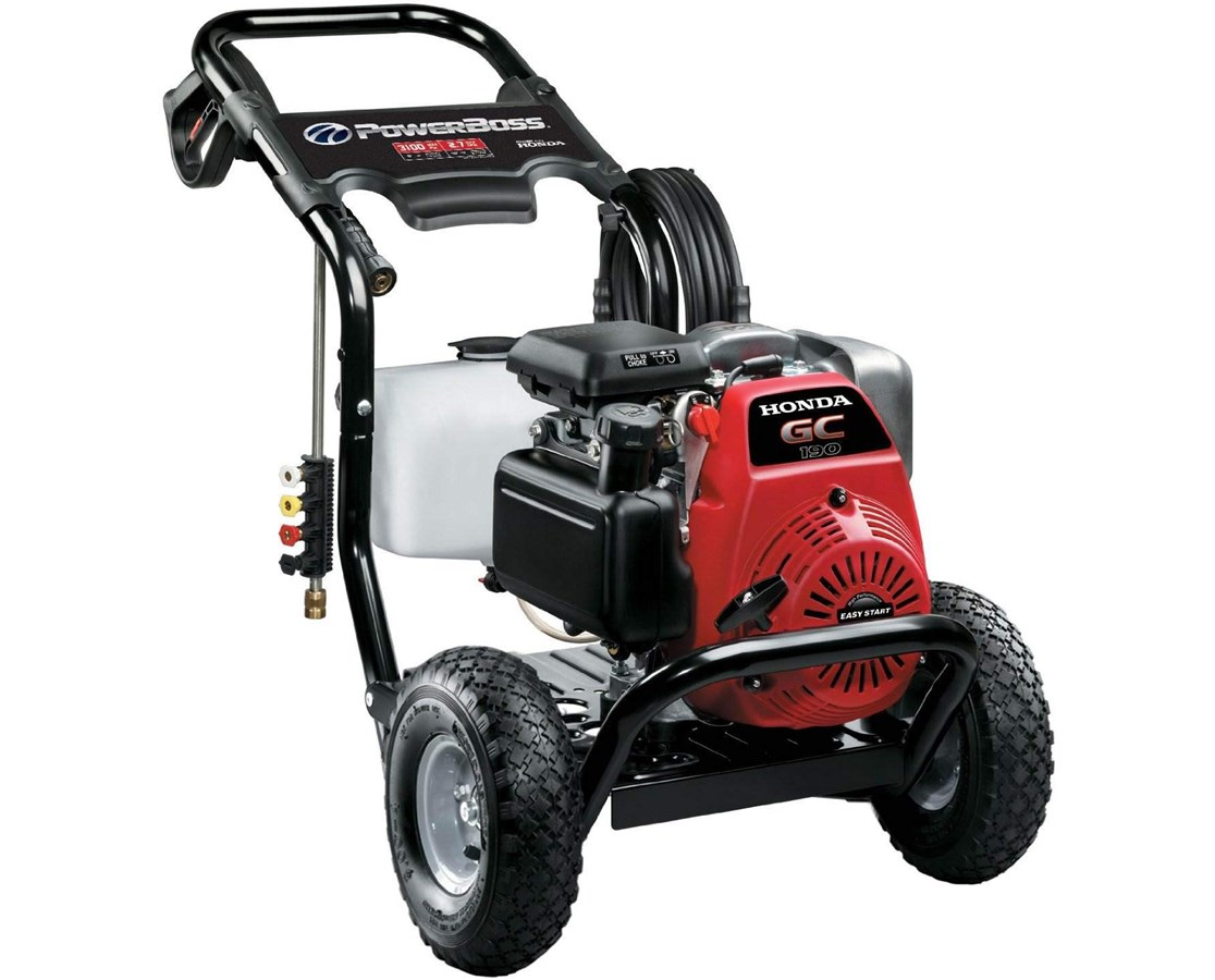 Briggs & Stratton 3100PSI Powerboss Pressure Washer w/ Honda GC190 Engine BRI20649