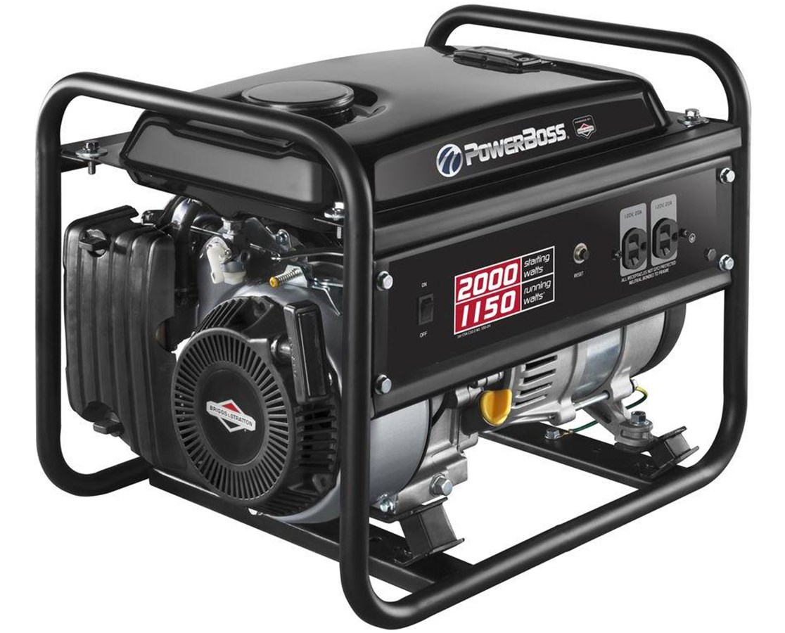 Briggs & Stratton PowerBoss Recoil Start Portable Generator