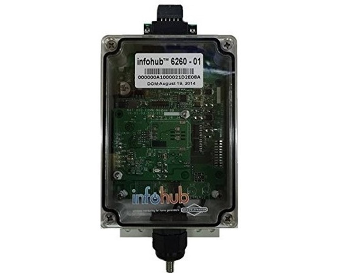 InfoHub Wireless Monitor for Briggs & Stratton Standby Generator BRI6260