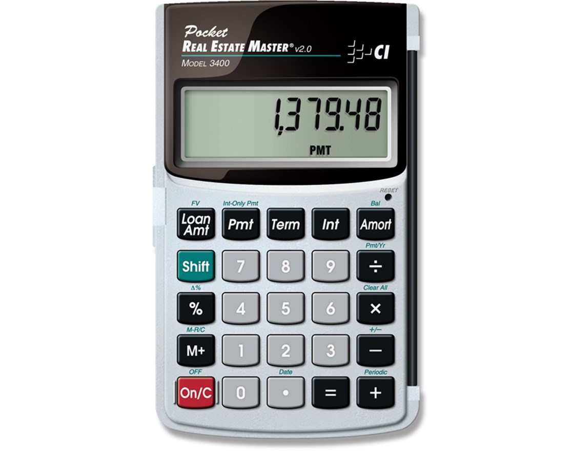 Calculated Industries Pocket Real Estate Master Calculator