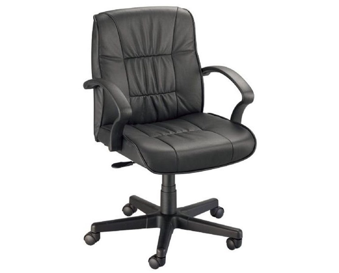 Alvin Art Director Executive Leather Office Height Chair CH777-90