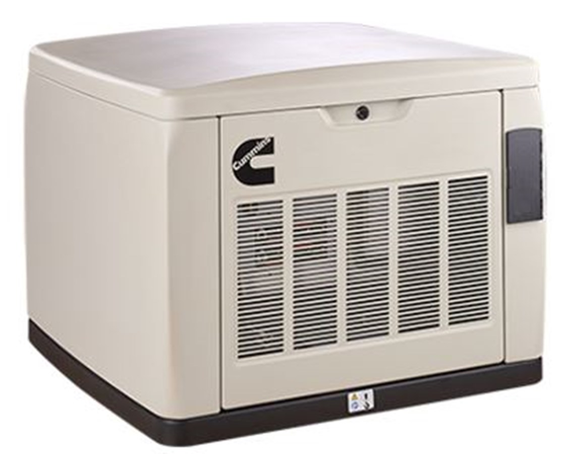 Cummins Quiet Connect Series 13-18kW Air-Cooled Standby Generator CMSA054E399-