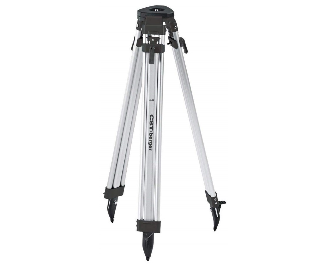 CST/Berger Aluminum Contractors Tripod with Quick Clamp 60-ALQCI20-B