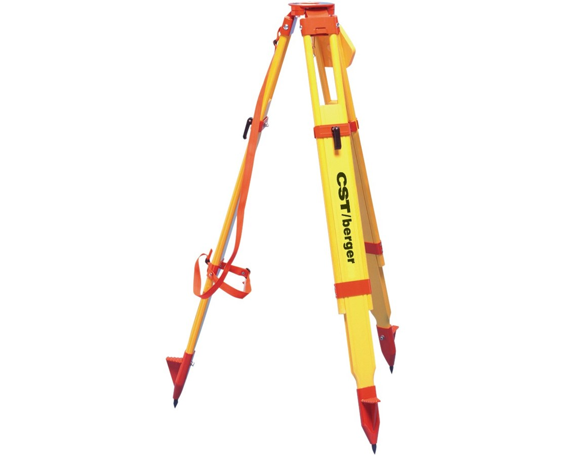 CST/Berger Heavy-Duty Wood/Fiberglass Dual Clamp Tripod CST60-WDF20MX-O