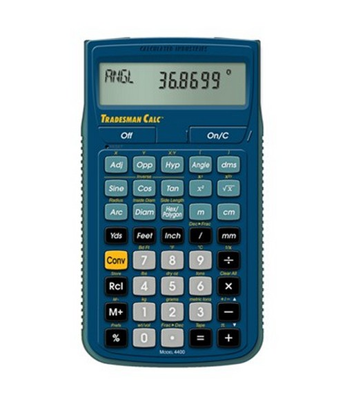 Calculated Industries Tradesman Calc Calculator