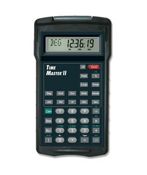 Calculated Industries Time Master II Calculator