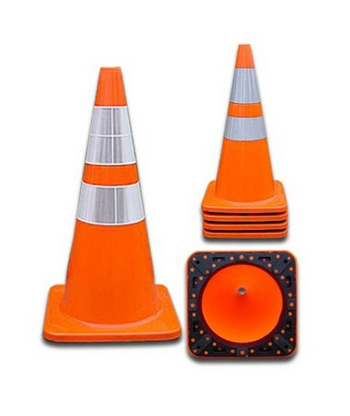 PVC Reflective Traffic Cones Chr4018PVCS