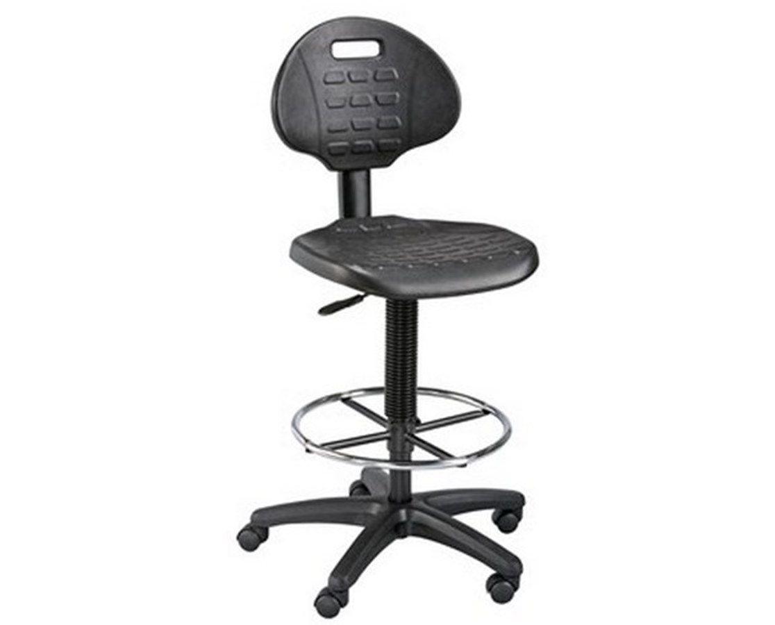 Alvin LabTek Black Utility Chair DC249