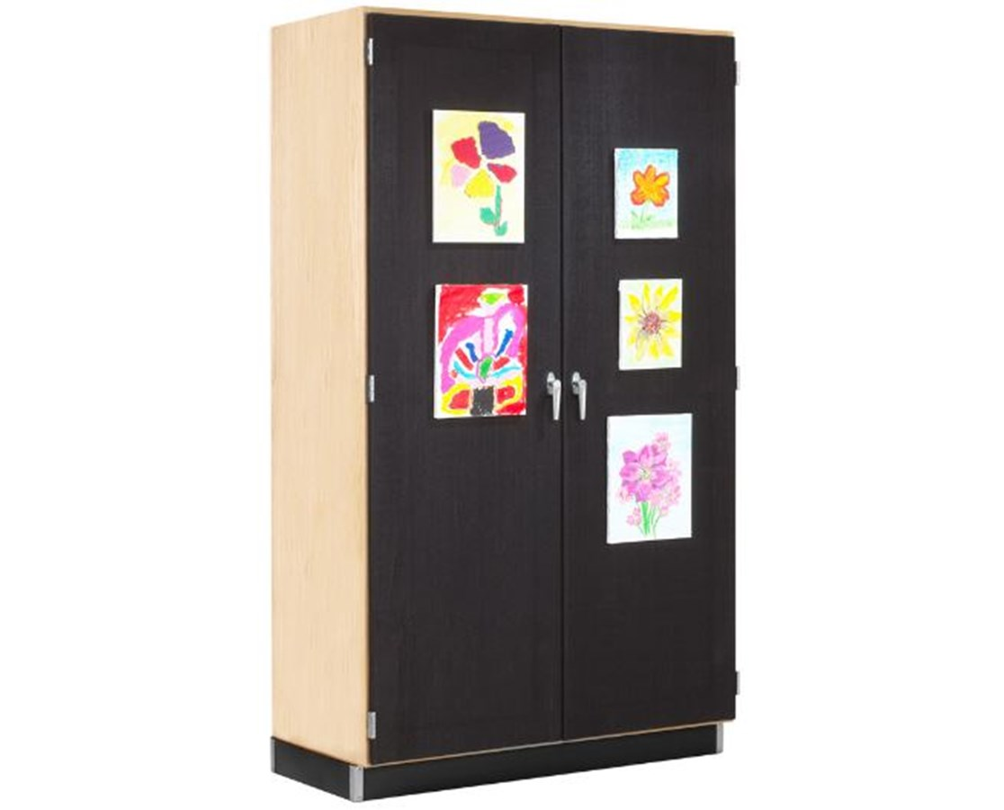 Diversified Woodcrafts Canvass Door Display Cabinet DIV359-4822M