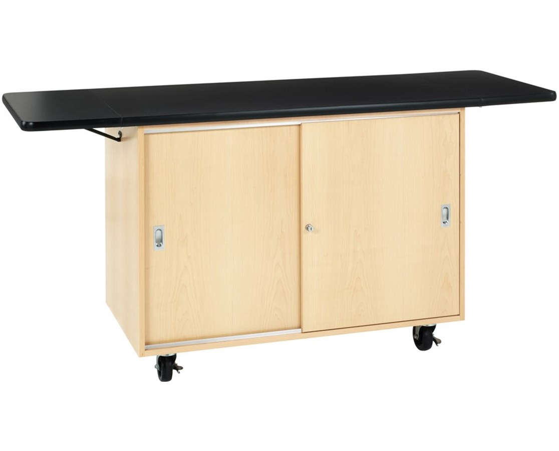 Diversified Woodcrafts Mobile Demo Table DIV4121MF