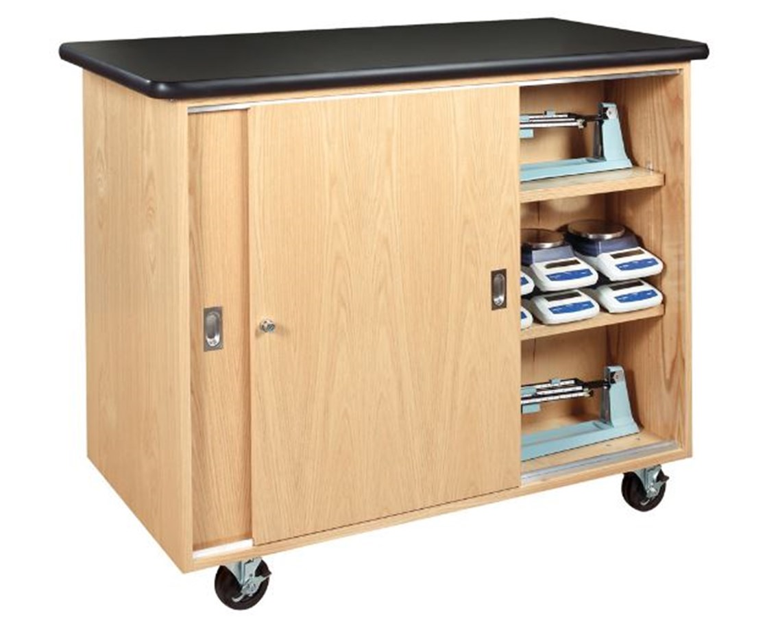 Diversified Woodcrafts Mobile Balance Storage Cabinet DIV5201K