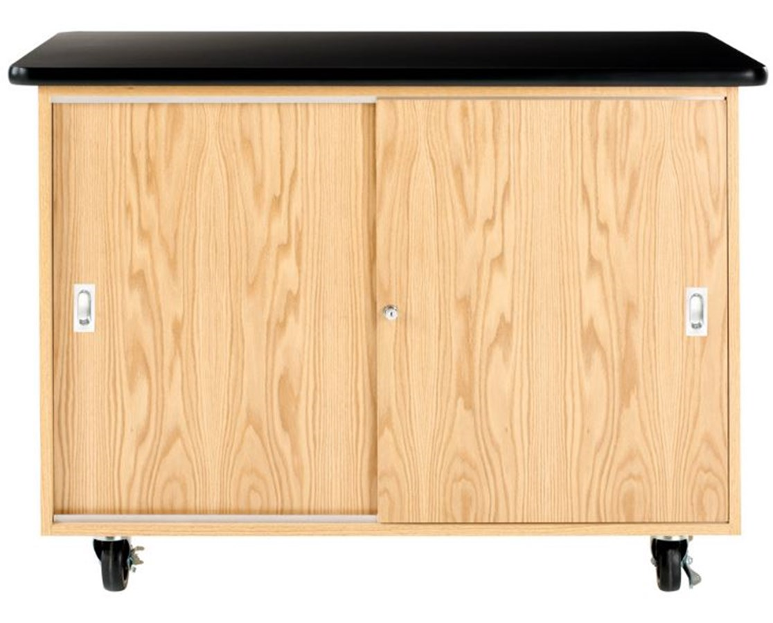 Diversified Woodcrafts Mobile Laptop Storage Cabinet DIV5301K