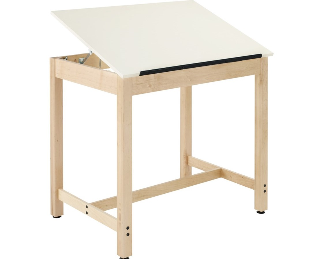 Diversified Woodcrafts Full Top Drawing Table System DIVDT-30A-
