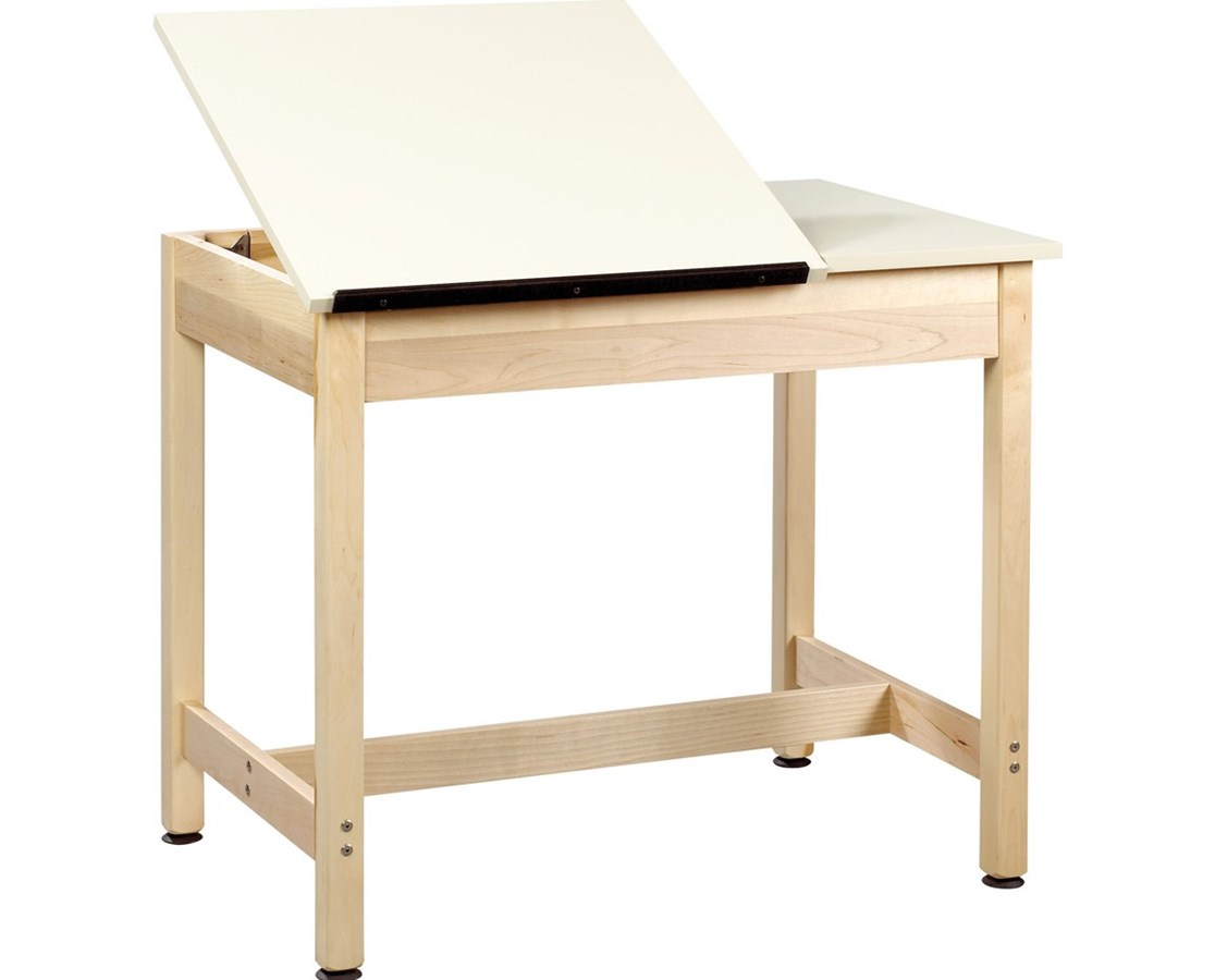 Diversified Woodcrafts Split Top Art And Drafting Table DIVDT 9SA30