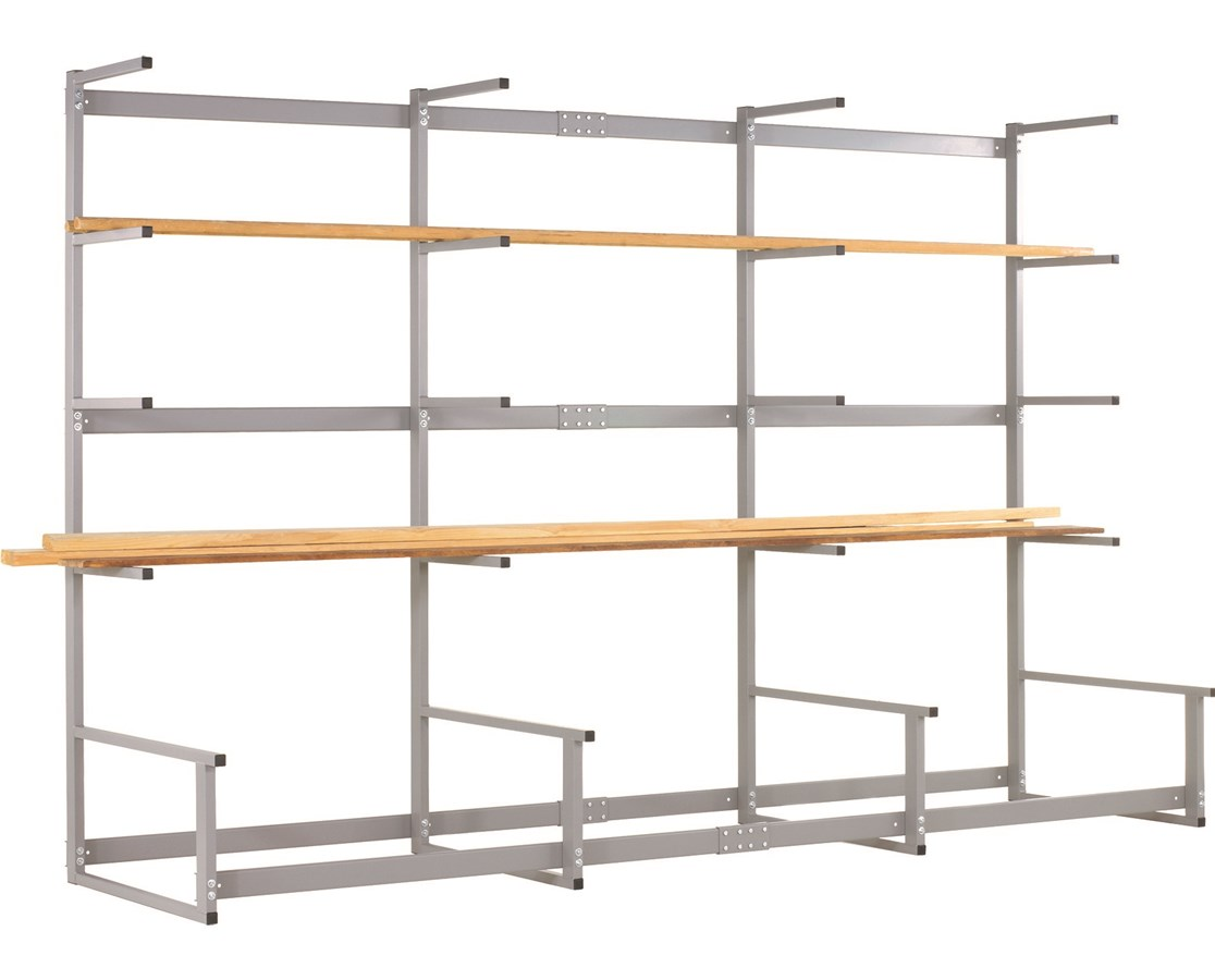 Diversified Metal Lumber Storage Rack DIVLR-12M