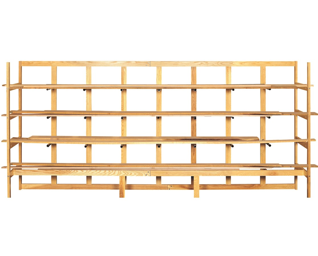 Diversified Woodcrafts Wood Lumber Storage Rack DIVLR-13W